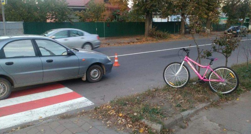 ДТП з дитиною на пішоходному переході в Хмельницькому