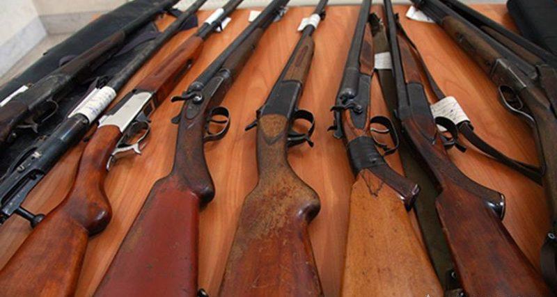Жителі області здали копам більше 200-т одиниць зброї