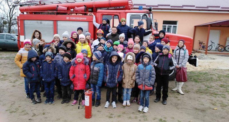Славутський район: рятувальники навчали дітлахів жити безпечно