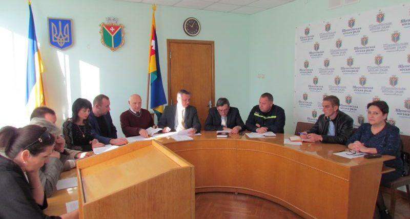 В Шепетівці збиралася комісія з приводу відключення газу