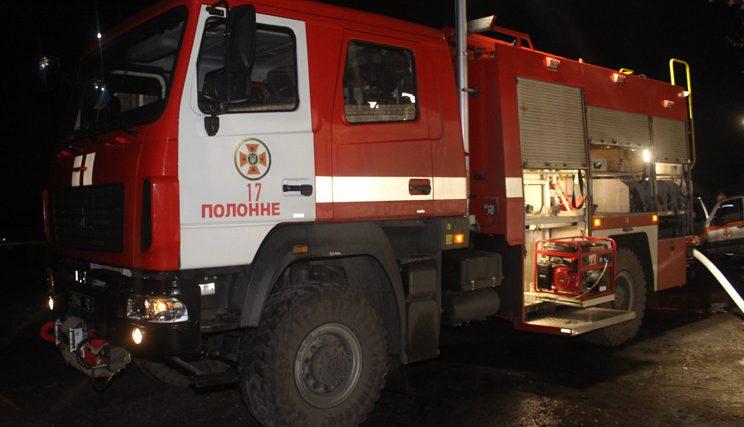 На Хмельниччині минулої доби з різних причин виникло 3 пожежі