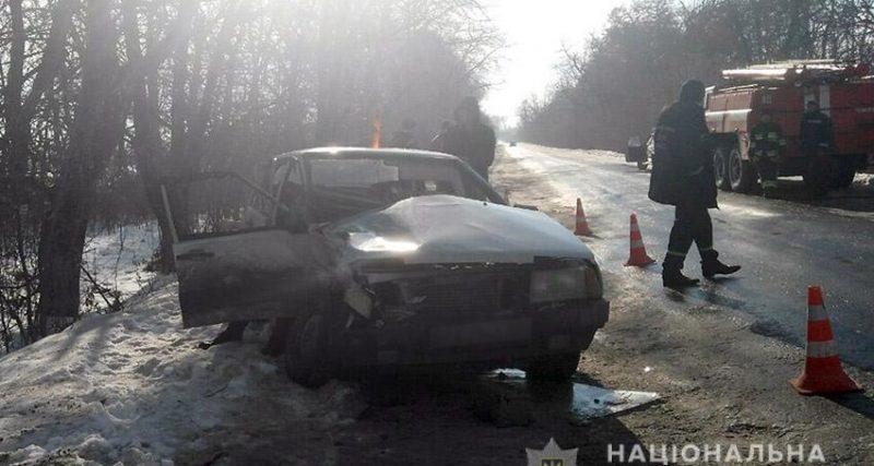 У результаті зіткнення двох автомобілів травмувався 43-річний чоловік