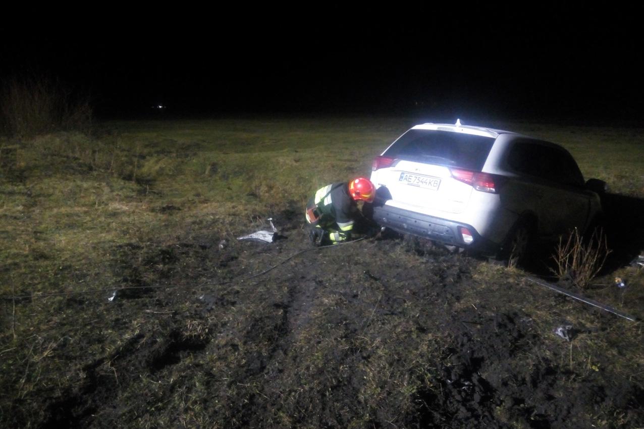 Рятувальники ліквідували наслідки ДТП, що трапилась в смт Ямпіль