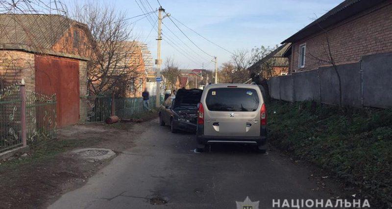 Хмельницькі копи спіймали водія, який збив пішохода і зник з місця ДТП