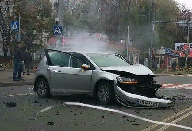 Зранку сталася ДТП у Хмельницькому біля поліклініки №2