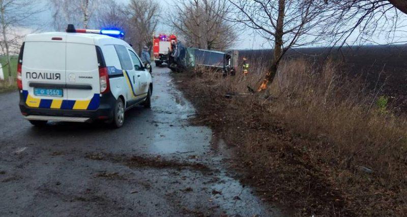 Минулої доби на Хмельниччині в ДТП одна людина загинула та двоє отримали травми