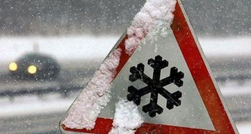 На Хмельниччині очікується сніг та ожеледиця