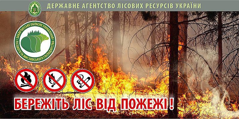 Лісівники Хмельниччини не допустили жодної великої пожежі протягом пожежонебезпечного періода