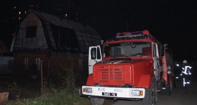 м.Хмельницький: бійці ДСНС ліквідували пожежу будинку