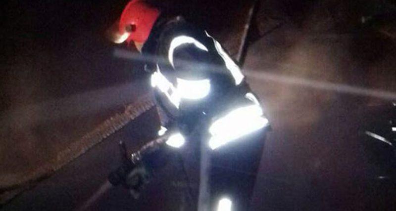 В селі Варварівка на пожежі виявлено тіло людини без ознак життя