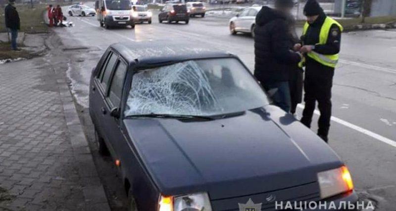 Поліція з'ясовує обставини ДТП, в якій здійснено наїзд на пішохода