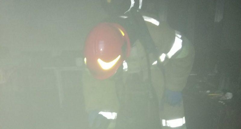 Під час ліквідації пожежі вогнеборці врятували 55-річного чоловіка