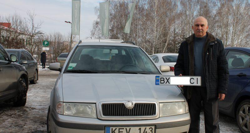 У Хмельницькому зареєстрували першу євробляху