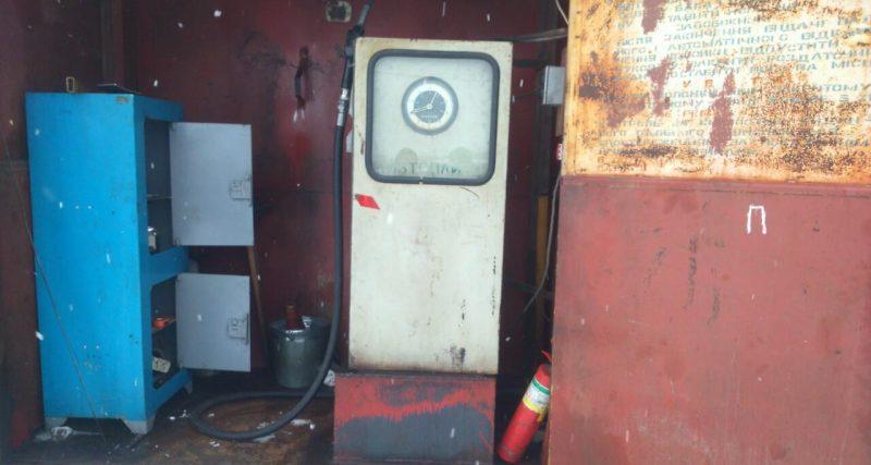 10 тонн палива вилучили правоохоронці з нелегальної автозаправки