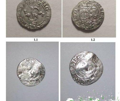 У Кам'янці знайшли гаманець зі стародавніми срібними монетами