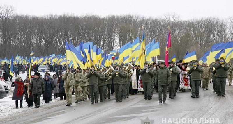 Поліція забезпечила правопорядок під час заходів з нагоди Дня Соборності на кордоні Хмельниччини і Тернопільщини