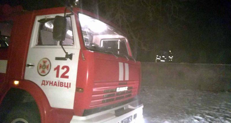 В Дунаєвецькому районі на пожежі виявили бездиханне тіло