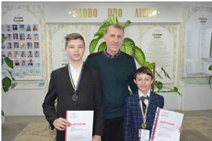 Шепетівчани привезли нагороди із Всеукраїнського конкурсу з інформаційних технологій «ITalent»