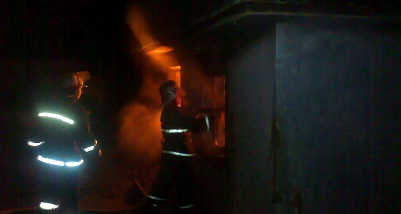 31 грудня вогнеборці 4 рази залучалися до ліквідації пожеж