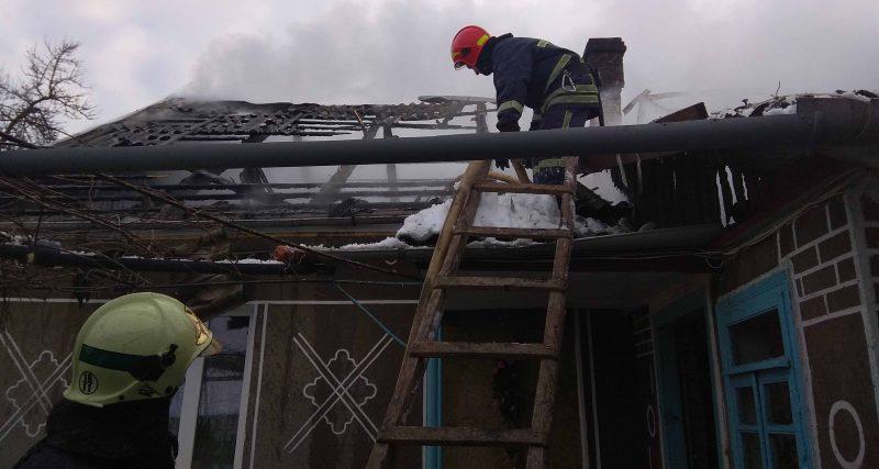 Славутський район: рятувальники ліквідували пожежу житлового будинку в с. Крупець