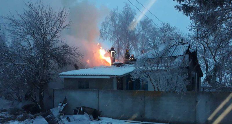 У Чемеровецькому районі у вогні загинула пенсіонерка