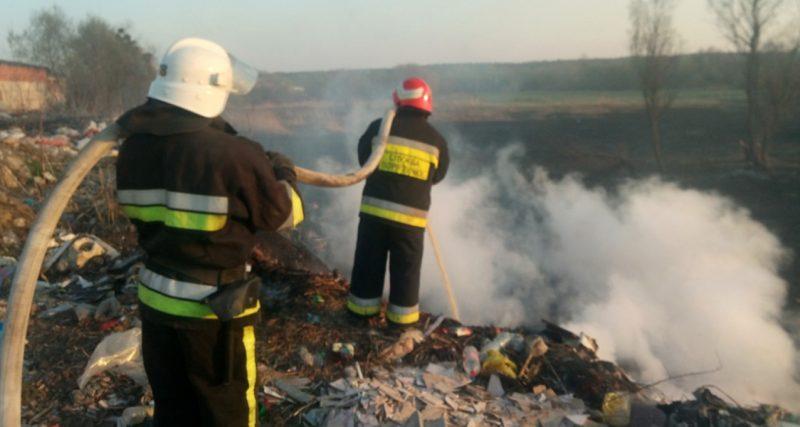 Протягом 15-16 квітня вогнеборці області 5 разів залучались до ліквідації пожеж.