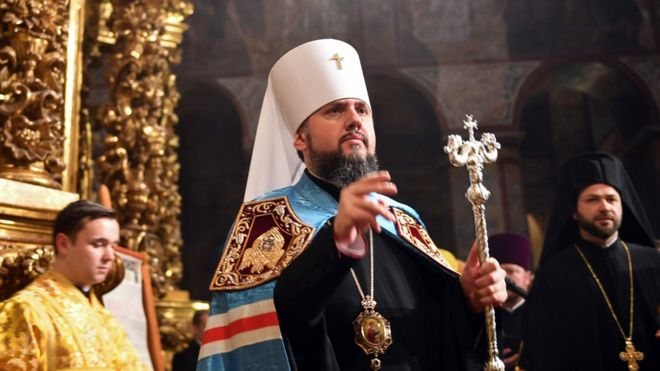 Хмельниччину відвідає митрополит Епіфаній