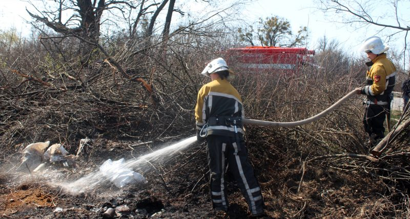 На Хмельниччині за добу сталось майже три десятка пожеж