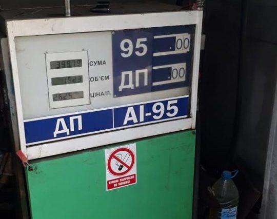 На Хмельниччині ліквідовано чергову незаконну автозаправну станцію автозаправну станцію автозаправна