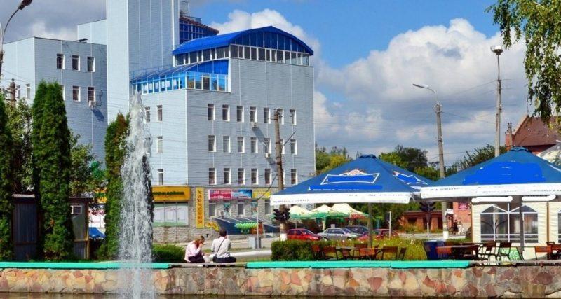 фонтан у місті Славута
