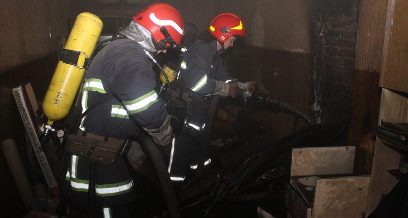 Хмельницький: вогнеборці ліквідували пожежу офісного приміщення