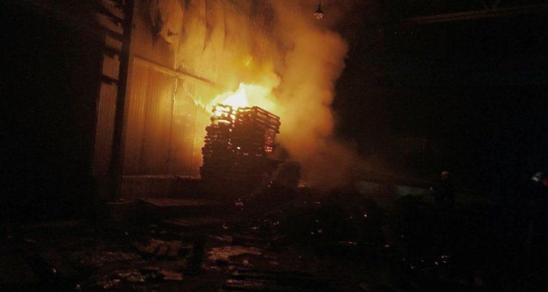 Одна з пожеж у Кам'янці-Подільському