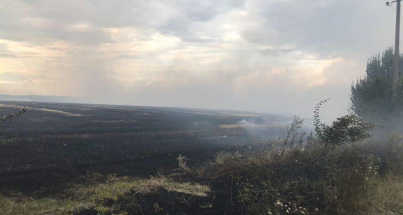 На Хмельниччині горять поля